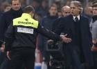 Mancini, suspendido un partido por insultar a los árbitros