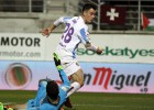 El venezolano Juanpi volvió a marcar con el Málaga