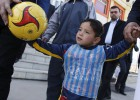 Murtaza Ahmadi, el niño de la camiseta de Messi