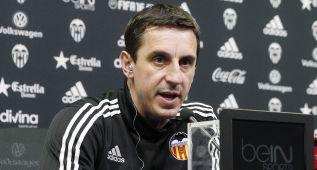"""Neville: """"Tenemos que volver a Mestalla con posibilidades"""""""