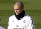 Pepe seguirá sin entrenarse debido a una fascitis plantar
