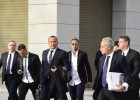 Neymar declaró una hora y media en la Audiencia Nacional