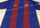 Filtrada la camiseta de la campaña 16-17... sin publicidad
