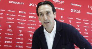 """Unai Emery: """"Si no nos ilusionamos no somos el Sevilla"""""""