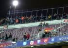 El Barça enjaula a la afición del Valencia en una prueba piloto