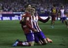 Fernando Torres-Griezmann: ataque rojiblanco ante el Eibar