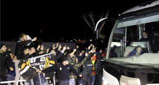 """Gritos de """"mercenarios"""" a los jugadores del Valencia"""