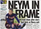 The Sun: la súperoferta por Neymar es del United (190M€)
