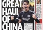 The Sun: el Chelsea rechazó 75 M€ del Jiangsu por Oscar