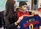 Iniesta, Terrassa y Sabadell se vuelcan con el niño Álvaro