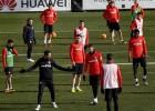 El Cholo confirmó la defensa: Gámez, Giménez, Saúl y Lucas