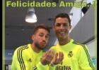 Ramos felicita a Cristiano: