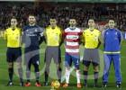 Árbitros y capitanes de Primera División en la jornada 23