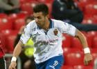 Ángel mantiene al Zaragoza enganchado a la zona alta