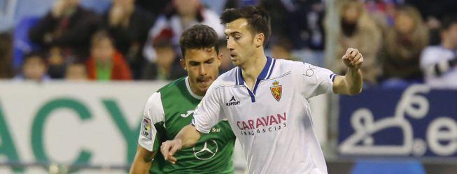 El Zaragoza acaba con la racha triunfal del Leganés