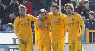 Levante-Barcelona en imágenes