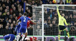 Diego Costa salva un punto para el Chelsea en el descuento