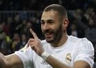 Benzema: cinco partidos consecutivos marcando