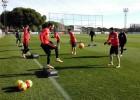 Torres: otro gol en el entreno para cerrar la semana