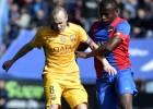 Uno por uno: Iniesta destaca en un Barça que no jugó nada bien