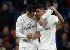 Zidane repite once: James, Benzema y Cristiano en ataque