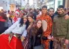 Óliver disfruta del carnaval