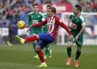 Griezmann: cuatro amarillas y Villarreal y Madrid a la vista