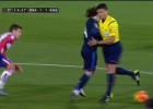 Gil Manzano bloqueó a Modric en la jugada que originó el 1-1