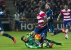 El árbitro anuló un gol a Rubén por fuera de juego de El Arabi