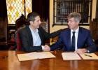 El Atlético y Alcalá firman la nueva Escuela del club