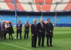 Gárate, homenajeado por el Eibar 'por defender sus valores'