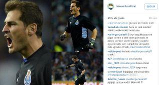 Walter González pide perdón a Casillas por los dos goles