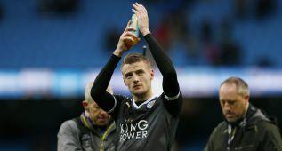 Jamie Vardy dice que el Leicester no renuncia a nada