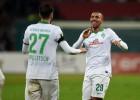 Dortmund y Werder Bremen vencen y se meten en semis