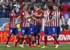 El Atlético de Madrid ganó al Eibar con siete canteranos