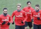 Simeone prueba con Torres en el 11; Thomas está lesionado
