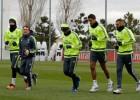 Modric, Carvajal y Marcelo no se entrenan con el grupo