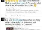 Piqué se enzarza con la prensa por la hamburguesa de Torres