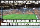 Los memes más divertidos del Valencia-Barcelona de Copa