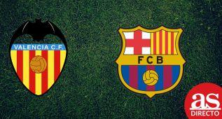 Valencia vs Barcelona: resumen, goles y resultado