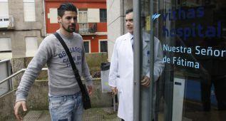 Nolito y Fontás, descartados para la Copa y el Camp Nou