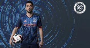 El New York City presenta su segunda equipación con Villa