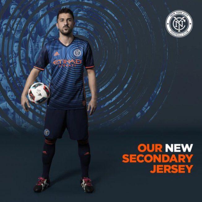 40450270874a9 MLS El New York City presenta su segunda equipación con Villa - AS.com