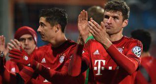 El Bayern y el Hertha alcanzan las semifinales de la Copa