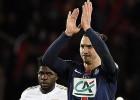 Zlatan y Rabiot eliminan al Lyon y mete al PSG en cuartos