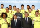 Los hombres de Zidane ya tienen su tarjeta de Sanitas