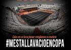 La Curva Nord no entrará hoy a Mestalla como protesta