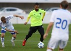El Málaga gana al Dinamo Kiev a puerta cerrada