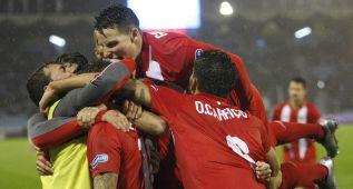 Ni Aspas pudo parar al Sevilla
