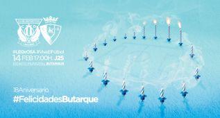 El Leganés festejará el domingo los 18 años de Butarque